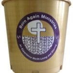 Church Offering Buckets with Logo