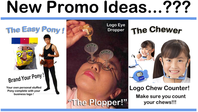 Worst Promotional Products Ever