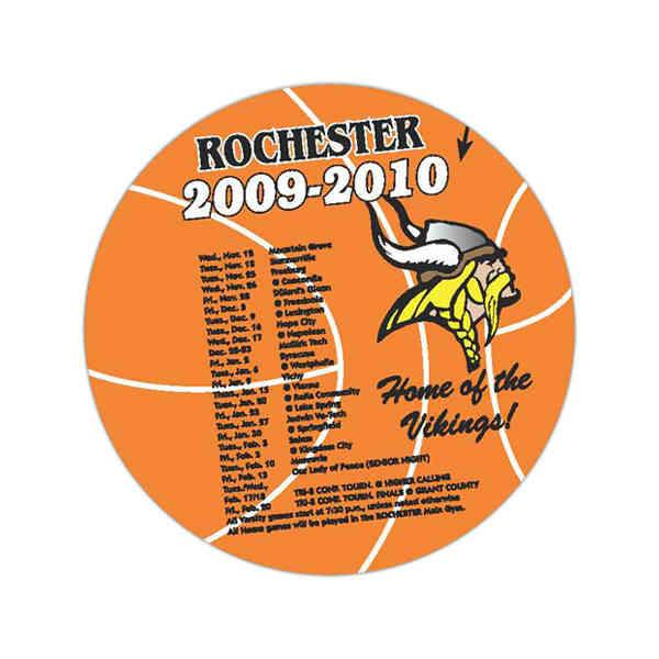Basketball Schedule Magnets