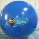 Beach Balls printed with full color logo