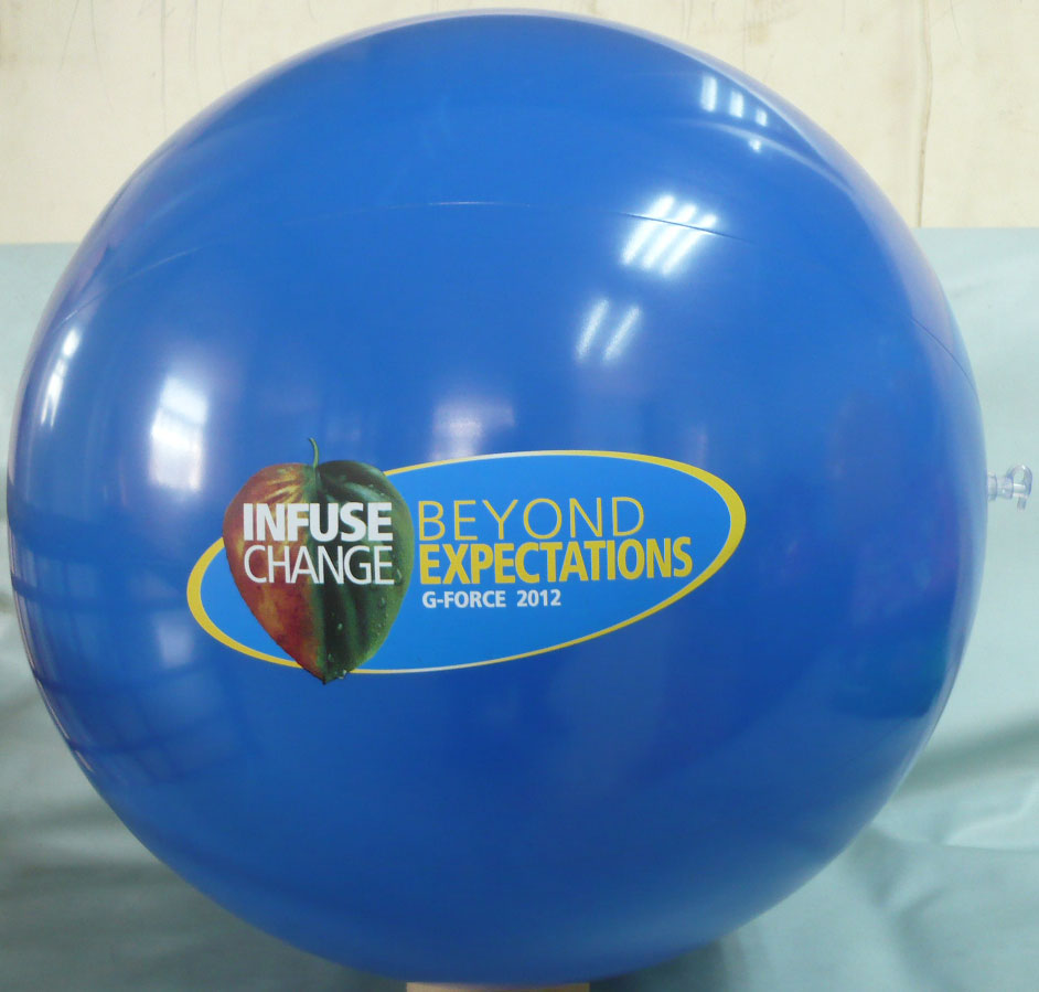 Full Color Beach Balls Are Finally Here