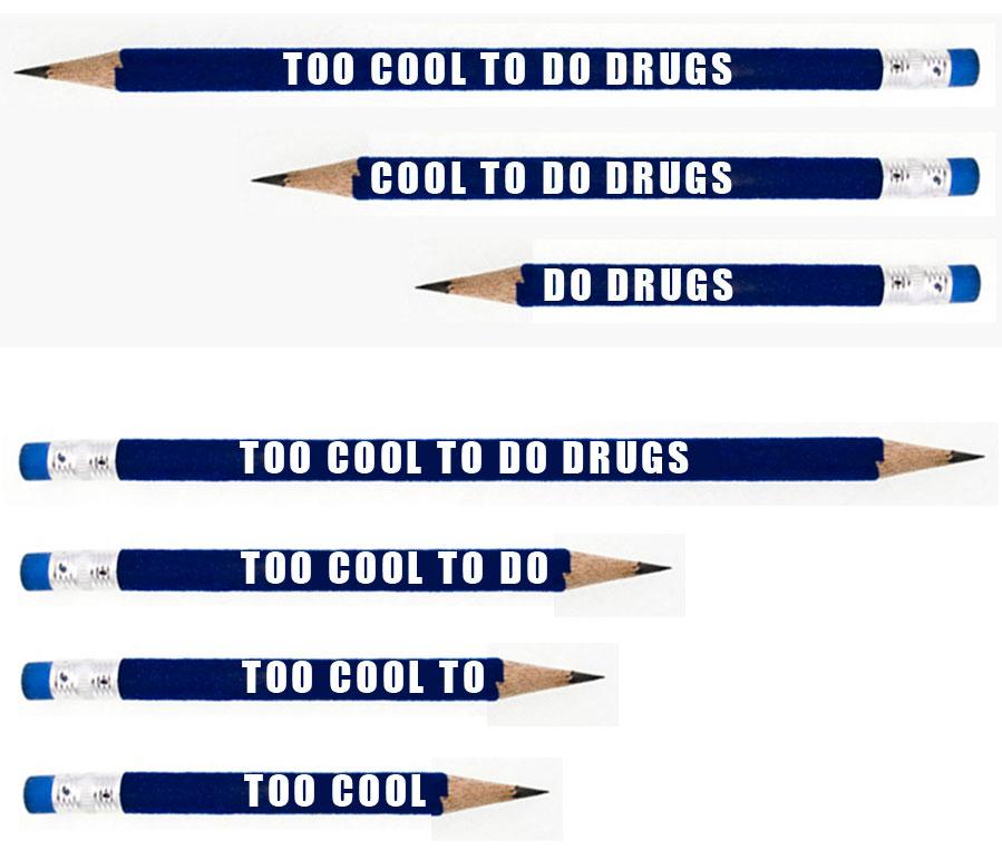 catchy anti drug slogans