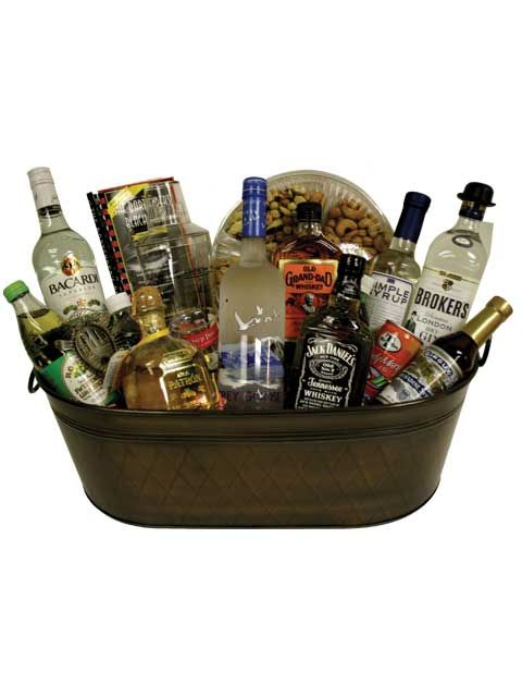 Jack Daniels Complete Open Bar Kit Gift Basket