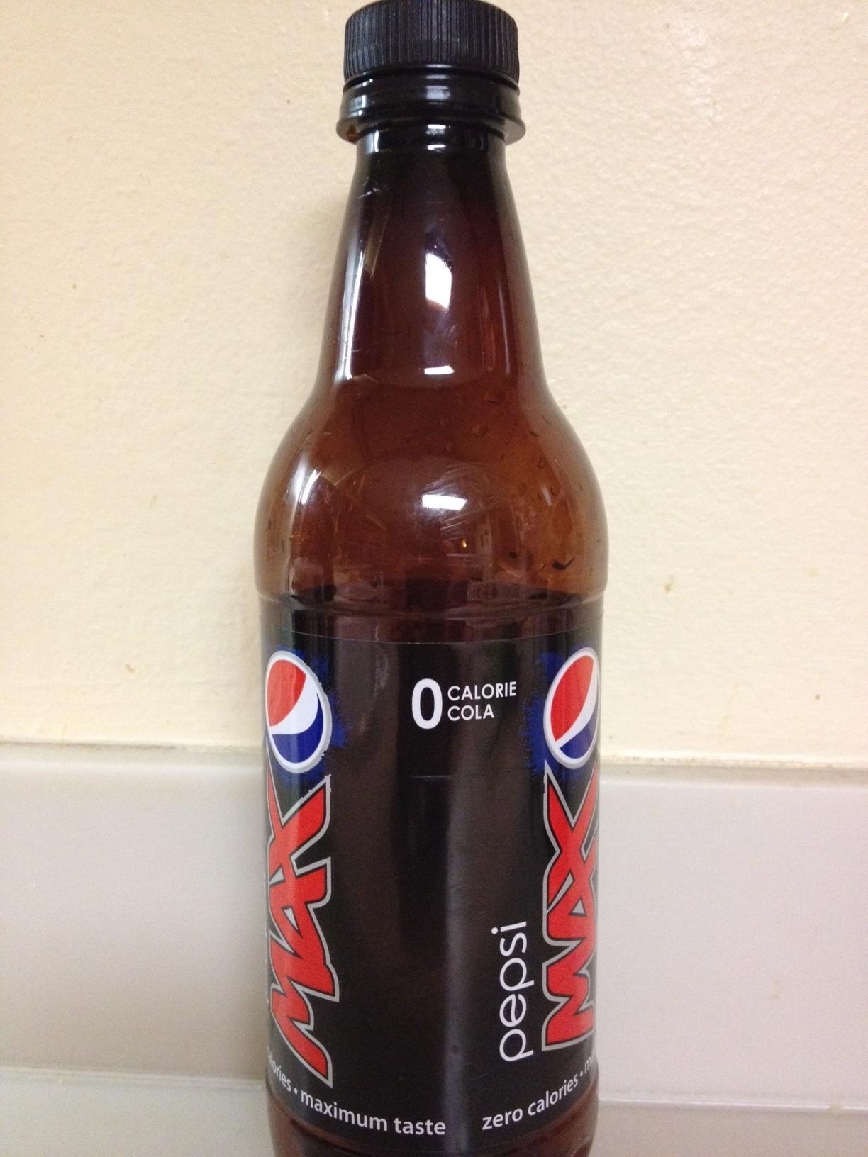 Design of Pepsi Max Bottle