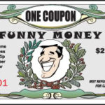 Full Color printed funny money